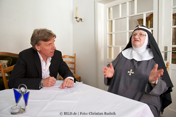 Im Gespräch mit BILD-Reporter Torsten Huber.