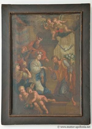 Gemälde mit der Darstellung Mariä Verlobung.