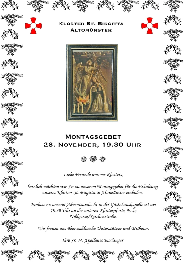 Andventsandacht am 28. November