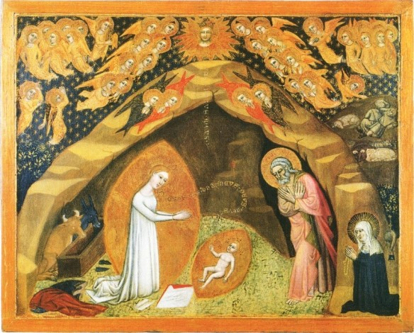 Niccolo di Tommaso: Geburt Christi (1373-1375).