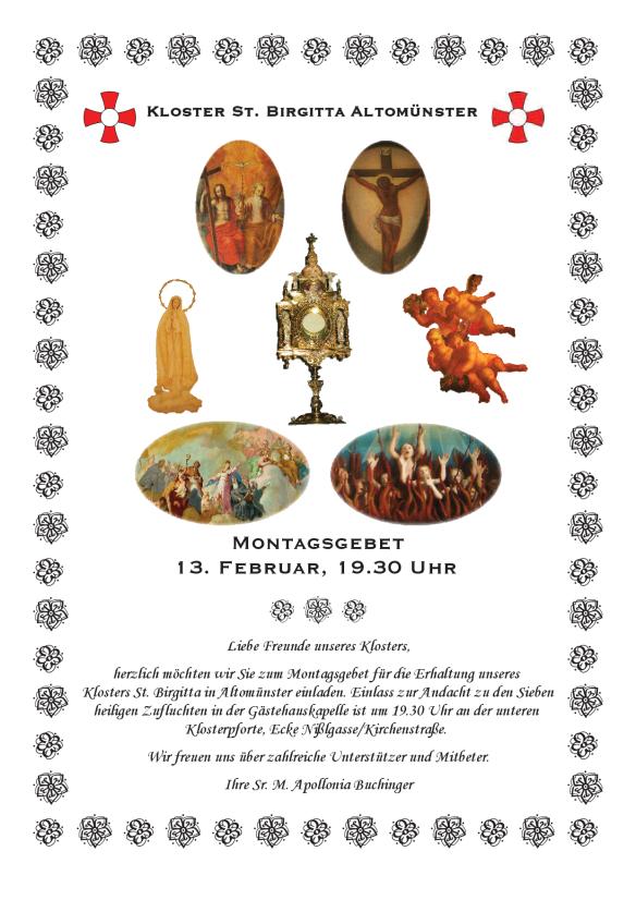 Andacht zu den Sieben heiligen Zufluchten